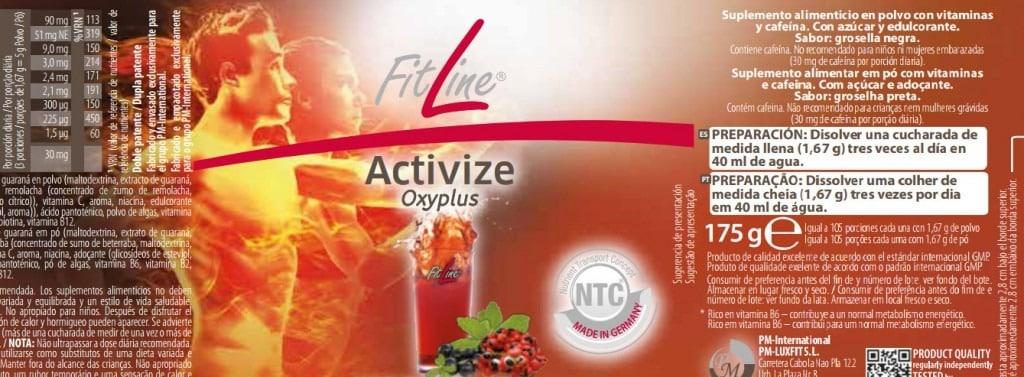 Activize oxiplus etiqueta