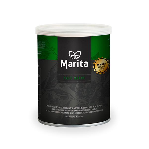 Café Marita Verde con hierva Mate